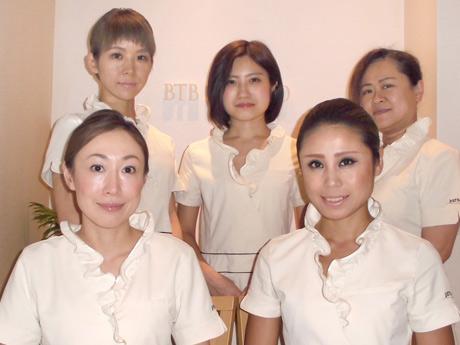舟山久美子さんが久しぶりのご来店。撮影前のメンテナンスとしてご利用いただいております@BTB目黒店